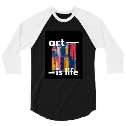 Art 3/4 Sleeve Shirt Designed By Gursheen