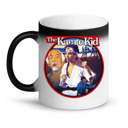 Karate Kid Vintage Image Magic Mug Designed By Crivello