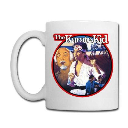 Karate Kid Vintage Image Coffee Mug Designed By Crivello