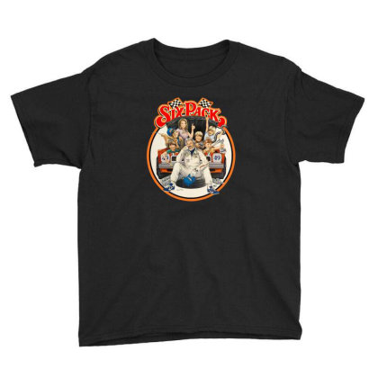 Kenny Rogers Six Pack Youth Tee Designed By Crivello