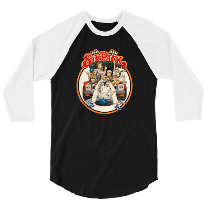 Kenny Rogers Six Pack 3/4 Sleeve Shirt Designed By Crivello