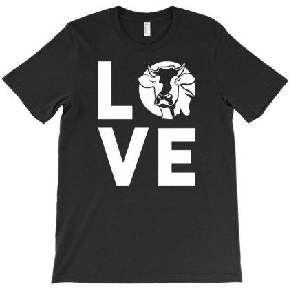 Farm Animal Love Cow T-shirt Designed By Ismi
