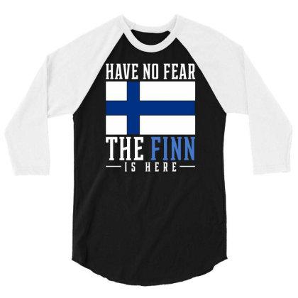 Finn Finland 3/4 Sleeve Shirt Designed By Ismi