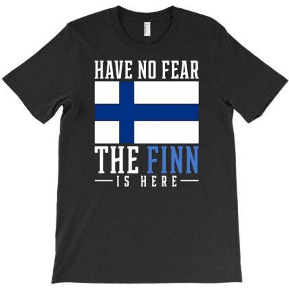 Finn Finland T-shirt Designed By Ismi