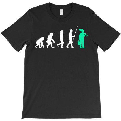Gardener Evolution Garden T-shirt Designed By Ismi