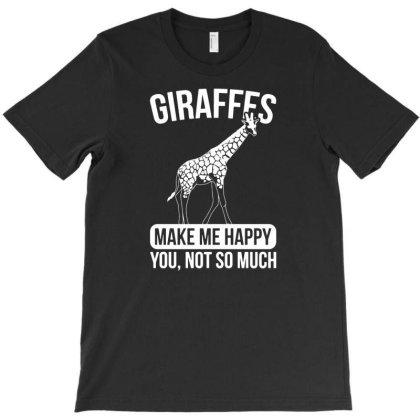 Giraffes Safari Animal Giraffe T-shirt Designed By Ismi