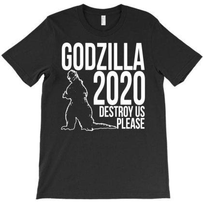 Godzilla 2020 T-shirt Designed By Ismi