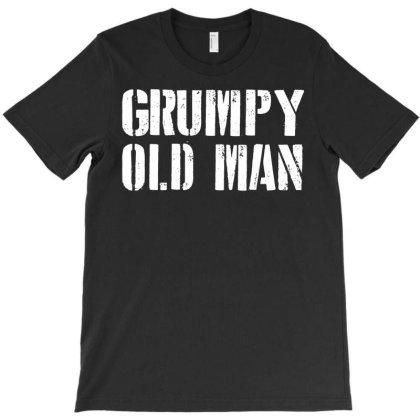 Grumpy Old Man T-shirt Designed By Ismi