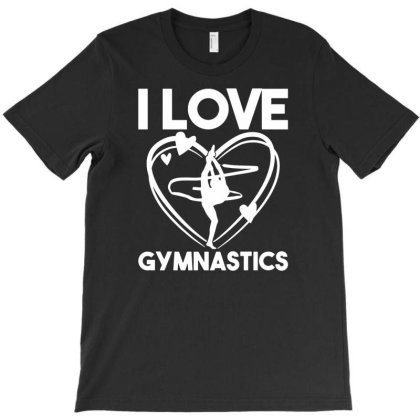 Gymnast I Love Gymnastics T-shirt Designed By Ismi