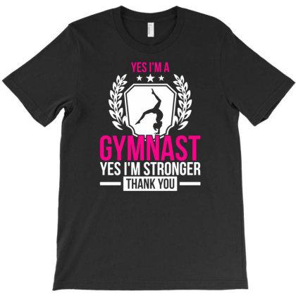 Gymnast Sport Olympics Gymnastics T-shirt Designed By Ismi
