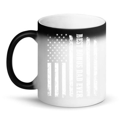 Best Bonus Dad Ever Magic Mug Designed By Hoainv
