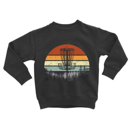 Best Dad By Par Retro Golf Dad Golf Lover Vintage Toddler Sweatshirt Designed By Hoainv