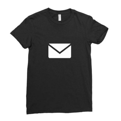 Email Ladies Fitted T-shirt Designed By Dc47