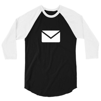 Email 3/4 Sleeve Shirt Designed By Dc47
