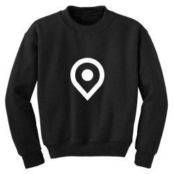 Location Google Youth Sweatshirt | Artistshot