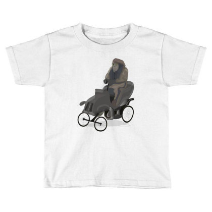 Chimpanzee Toddler T-shirt Designed By Rococodesigns