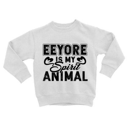 Eeyore Is My Spirit Animal Toddler Sweatshirt Designed By Hoainv