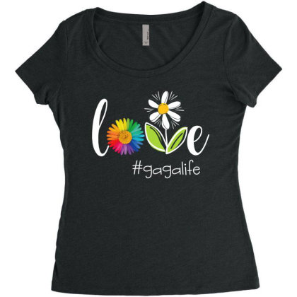 Gagalife Women's Triblend Scoop T-shirt Designed By Hoainv