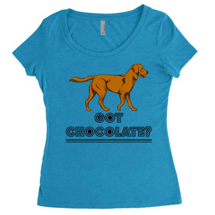Got Chocolate Women's Triblend Scoop T-shirt Designed By Hoainv