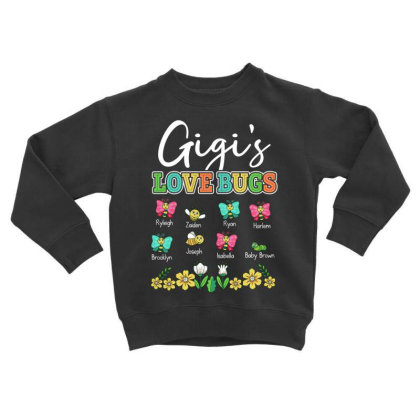 Gigi's Love Bugs Toddler Sweatshirt Designed By Hoainv