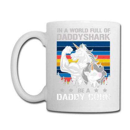 Daddycorn Daddy Unicorn Coffee Mug Designed By Ursulart