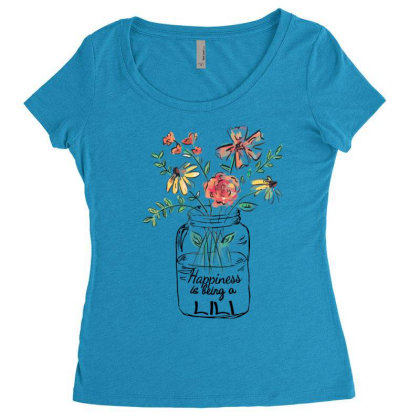 Happiness Is Being A Lili Women's Triblend Scoop T-shirt Designed By Hoainv