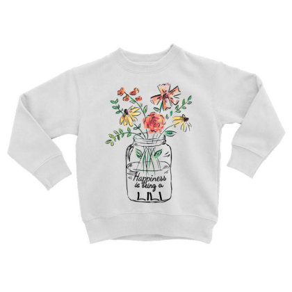 Happiness Is Being A Lili Toddler Sweatshirt Designed By Hoainv