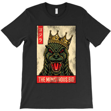 Godzilla T-shirt Designed By Sober Artwerk