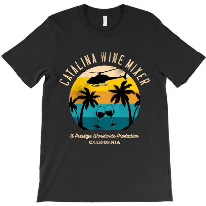 Catalina Wine Mixer T-shirt Designed By Sober Artwerk