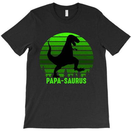 Papa Saurus 2020 T-shirt Designed By Faical
