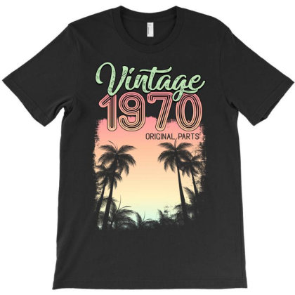 Vintage 1970 Original Parts T-shirt Designed By Badaudesign