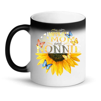 Happiness Is Being A Momand Nonnie Magic Mug Designed By Hoainv