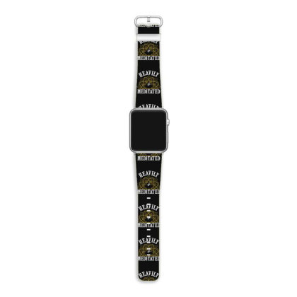 Heavly Meditated Apple Watch Band Designed By Hoainv