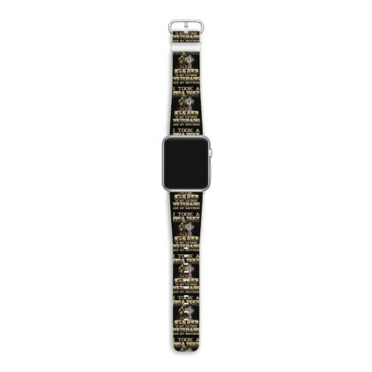 I Took A Dna Test God Is My Father Veterans Are My Brothers Apple Watch Band Designed By Hoainv