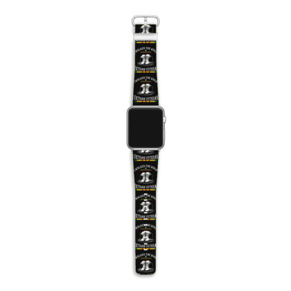 I Walked The Walk Vietnam Veteran Apple Watch Band Designed By Hoainv