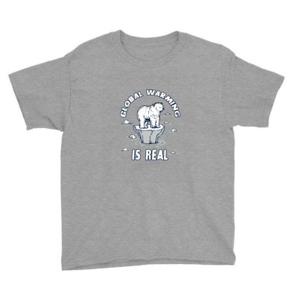 Global Warming Is Real Tee Youth Tee Designed By Blackstone