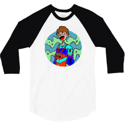 Hypebeast 3/4 Sleeve Shirt Designed By Konark