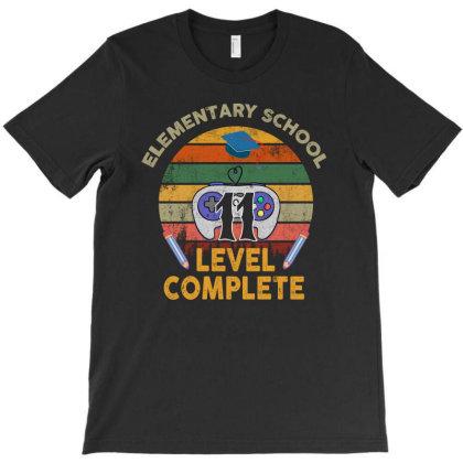 Elementary School 11 Level Complete T-shirt Designed By Sengul