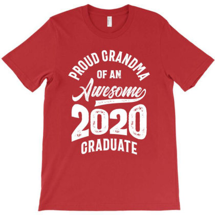 Proud Grandma Of An Awesome 2020 Graduate T-shirt Designed By Cidolopez