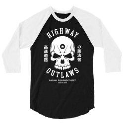 speed highway outlaw 3/4 Sleeve Shirt | Artistshot