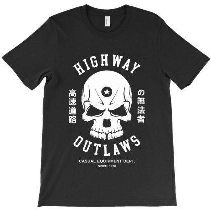 Speed Highway Outlaw T-shirt Designed By Designisfun