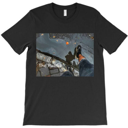 The Puddle T-shirt Designed By Hiraved