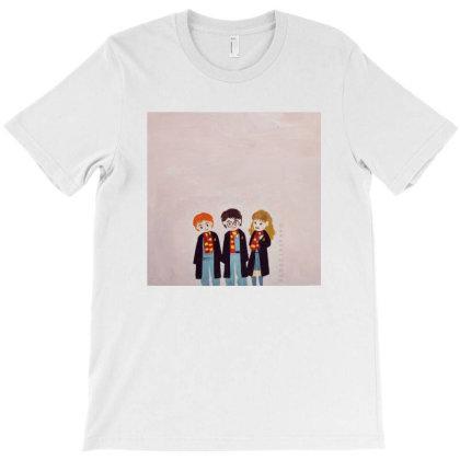 Harry Potter Trio T-shirt Designed By Ekata120296