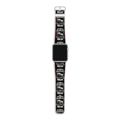 Asshole Dad And Smartass Daughter Best Friends For Life Apple Watch Band Designed By Hoainv