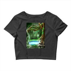 enchanted forest Crop Top | Artistshot