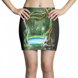 enchanted forest Mini Skirts | Artistshot