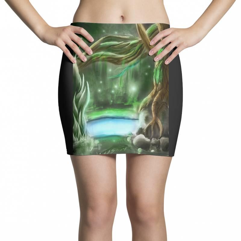 Enchanted Forest Mini Skirts | Artistshot