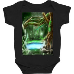 enchanted forest Baby Bodysuit | Artistshot