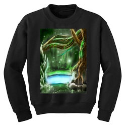 enchanted forest Youth Sweatshirt | Artistshot