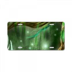 enchanted forest License Plate | Artistshot